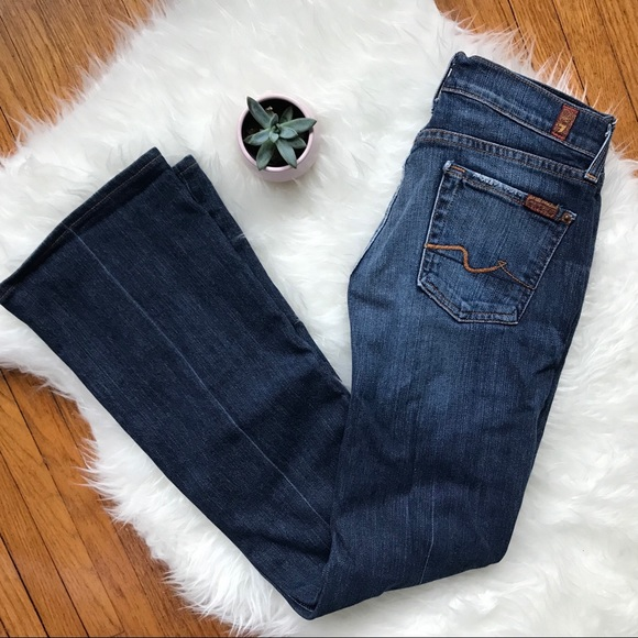 7 For All Mankind Denim - 7 For All Mankind Bootcut Jeans - Size 26